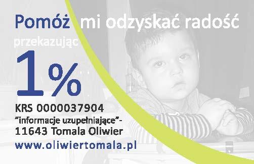 1% dla Oliwiera