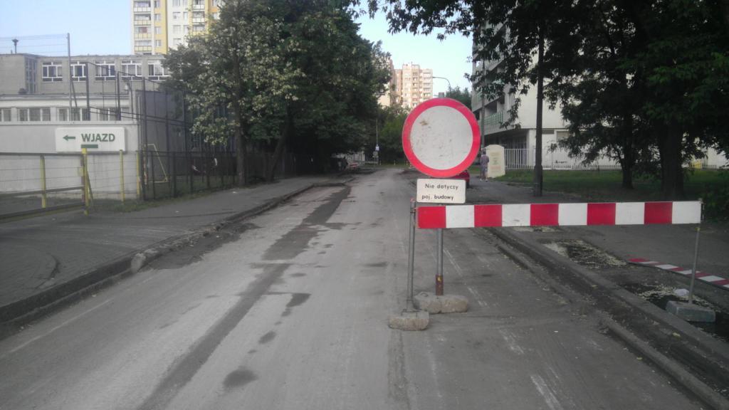 Remont ulicy Bełżeckiej