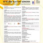 Klub Kultury Seniora wita we wrześniu