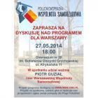 Dyskusja nad programem dla Warszawy