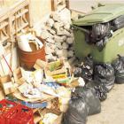 Nie zapomnij wystawić śmieci przed furtkę.