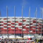 Kino dla zmotoryzowanych pod Stadionem Narodowym