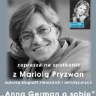 Biblioteka przy Paca: Anna German o sobie